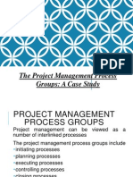 The Project Management Process Groups