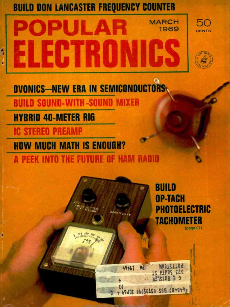 Pe 1969 03 Loudspeaker Vacuum Tube 5wk Dpdt 5v 1a Dip Relay Circuit Diagram