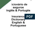 Dicionario Seguros INGLES PORTUGUES