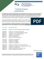 CSG LNG Industry Training Program