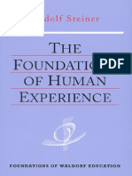 Rudolf Steiner - The Foundations Of Human Experience [1919]