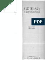 Hans Vaihinger - Kant Ein Metaphysiker