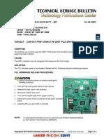 Technical Bulletin for DSm716/721