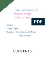 Add Maths Project Form 5 Popcorn