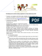 Funza Lushaka Bursary Application Notes 2014_23042013