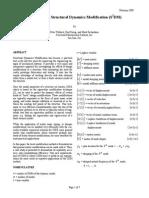 Simultaneous Structural Dynamics Modification (S2DM)