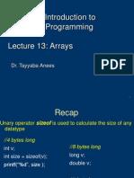 Lect12 Dr. Tayyaba