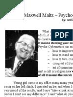 Maxwell Maltz - Psycho-Cybernetics - (incomplete) Notes
