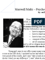 Maxwell Maltz - Psycho-Cybernetics - (incomplete) Notes