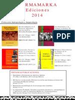 Purmamarka Ediciones Catalogo-2014