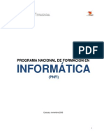 PNFI (Contenidos Programáticos)