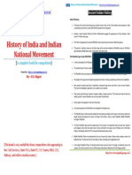 History of India and Indian National Movement