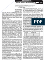 Notification UPSC 12 2014 Various Posts