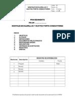 Procedimiento Montaje Escalerillas y Ductos Porta Conductores