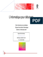 Diaporama Initiation Informatique Nimes