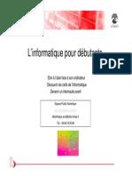 Diaporama Initiation Informatique Nimes