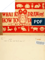 What to draw and how to draw it (c1913)