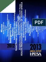 Hpcsa Annual Report 2012 2013