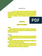 Proyecto División 5to Grado Seccion A