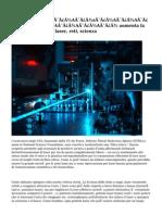 NOI militaryA�A�A�s�A�A�aria ottica fiberA�A�A� aumenta la potenza delle armi laser, reti, scienza