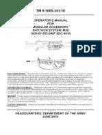 M26 SHotgun TM 9-1005-341-10 Incl C001