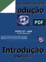 02 ADM Teoria Geral Da Administração Introdução