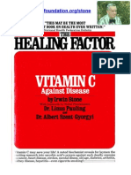 Vitamin C - The Healing Factor by Irwin Stone