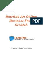 Starting an Online Business From Scratch