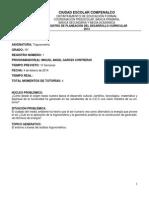 Registro de Des. Curricular Matemáticas 10_ 2014