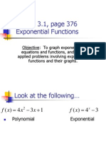 3.1  Exponential FUnctions++