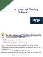 07 Double Layer Lap Winding Scheme