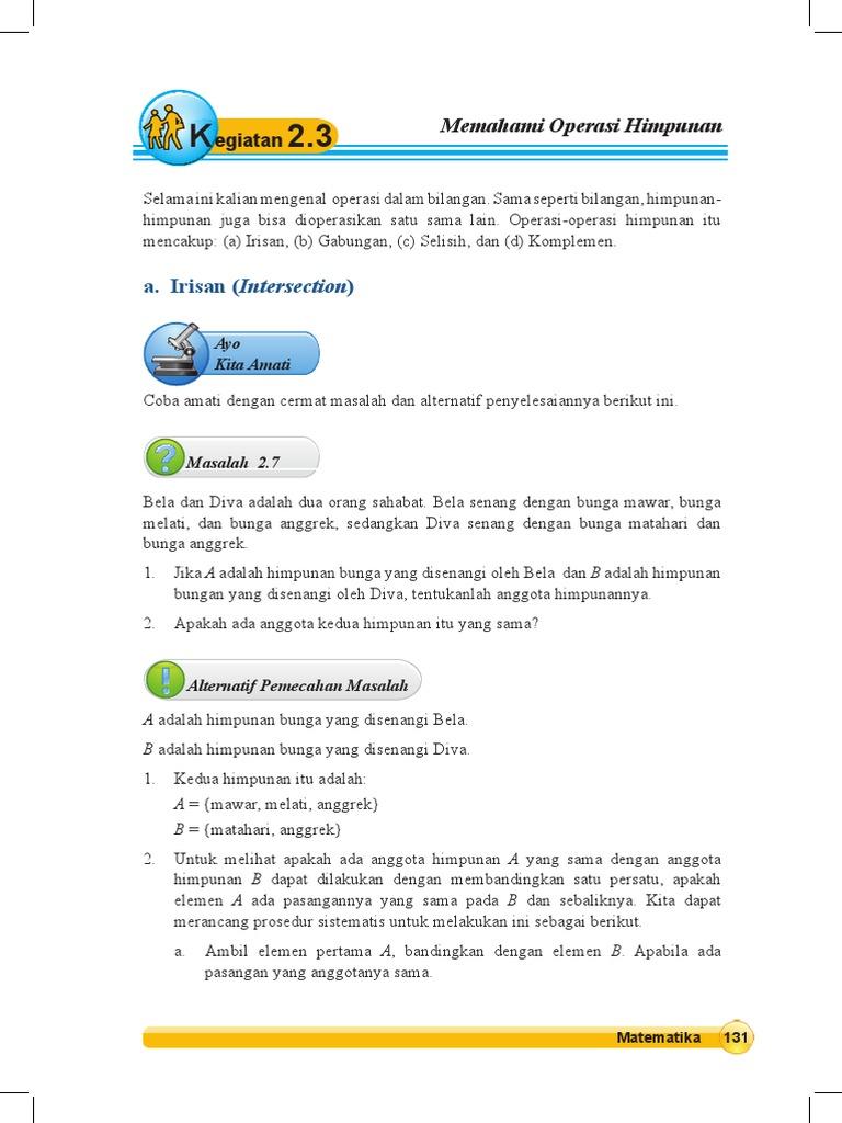Keg 23 memahami operasi himpunan ccuart Image collections
