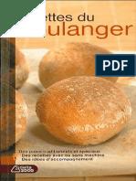 recettes du boulanger