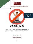 Yoga ¡no!