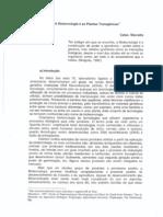 Biotecnoogia e as plantas transgênicas ( Celso Marcatto)