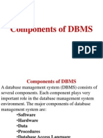 3.Components of DBMS