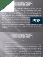 Características Especiales y Fases de Desarrollo de Un Proyecto Minero