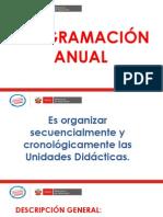 Diapositivas Planificación Anual.