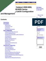 Cisco Best Practices for Catalyst CatOS 103