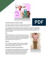 Cuáles Son Los Factores de Riesgo Del Cáncer de Ovario