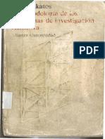 Imre Lakatos_La Metodologia de Los Programas de Investigacion Cientifica