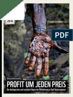WWF Hintergrundinformation Profit Um Jeden Preis OElfoerderung in Naturregionen