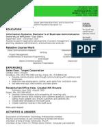 Jeff Bursik's Resume