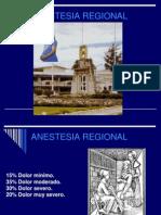 Anestesia Regional 2013