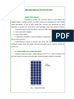 Fabricarea celulelor fotovoltaice