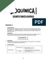 SEMANA 3 - Bioquímica I