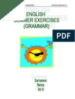 English Summer Grammar