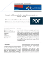 Detección de Fallas Operacionales y de Medición en Circuito de Tres Celdas de Flotación - C. Ramírez