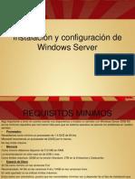 Instalación y Configuración de Windows Server