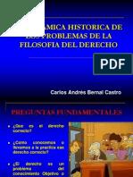 P. Historica de Los Problemas de La Filosofía Del Derecho